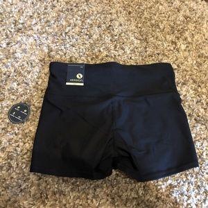NWT Black Xersion Biker Shorts, Sz Large